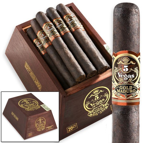 Сигары 5 Vegas Gold Belicoso Maduro