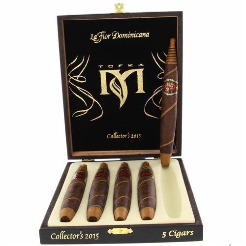 """Сигары La Flor Dominicana TCFKA """"M"""" Collector's 2015 в подарочной упаковке"""