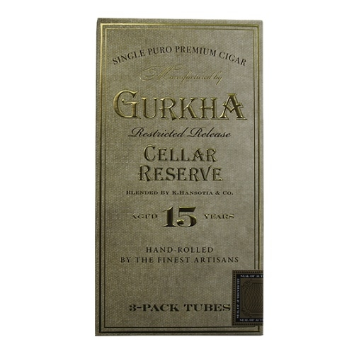 Сигары Gurkha Cellar Reserve 15 Tubos Hedonism