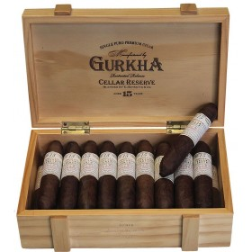 Gurkha Cellar Reserve 15 Years Solaro Double Robusto