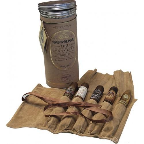 Сигары Gurkha Centurian Cylinder Sampler в подарочной упаковке