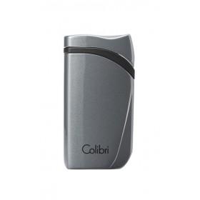 Зажигалка сигарная Colibri Falcon, серый металлик