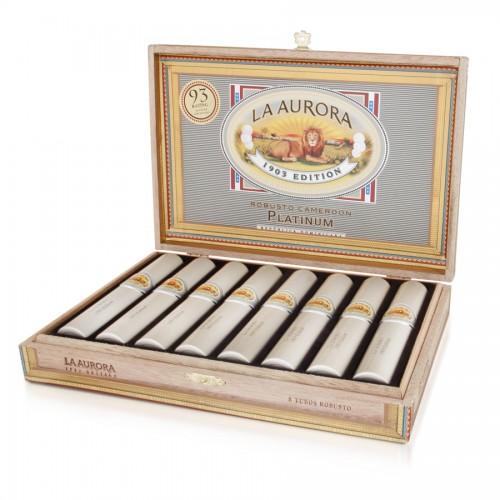 Сигара La Aurora 1903 Robusto Platinum