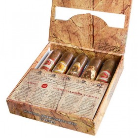 Сигары La Aurora Assortment box 5 tubes в подарочной упаковке