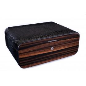 Хьюмидор Gentili Croco Black на 75 сигар Limited Edition