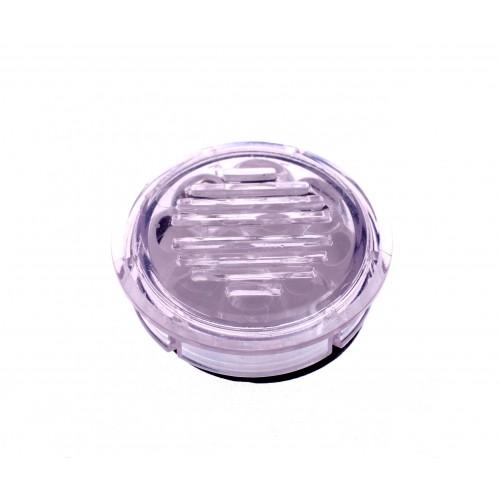 Увлажнитель акриловый Passatore на 5 сигар или кисет табака, круглый, прозрачный