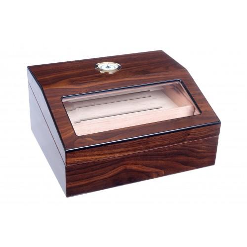 Хьюмидор Tom River на 40 сигар с ножницами для сигар, Орех