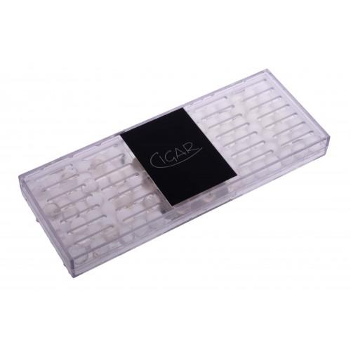 Увлажнитель прозрачный акриловый пенал на 75 сигар