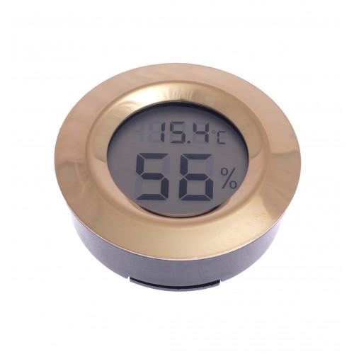 Термо-Гигрометр цифровой круглый