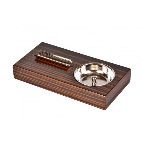 Пепельница Tom River на 1 сигару, Эбеновое дерево