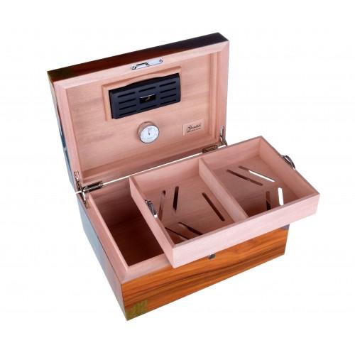 "Хьюмидор Gentili на 80 сигар (инкрустация ""Куба"")"
