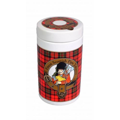 "Банка для табака Lubinski ""Шотландия"", красная"