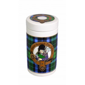 "Банка для табака Lubinski ""Шотландия"", зеленая"