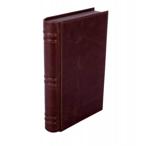 "Хьюмидор дорожный Lubinski ""Книга"", Темно-коричневый на 15 сигар"