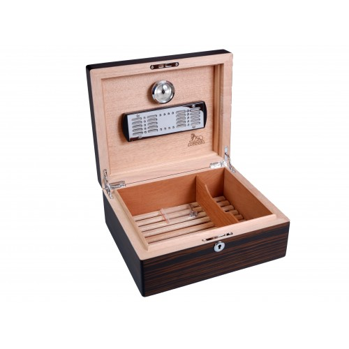 Хьюмидор Lubinski на 50 сигар, Макассар