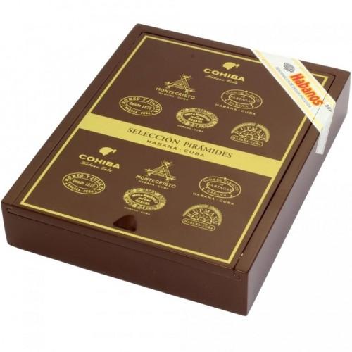 Набор сигар Seleccion Piramides 6 в подарочной упаковке
