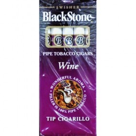Black Stone Tip Cigarillos Wine