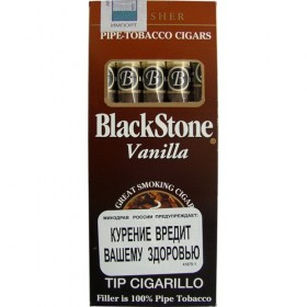 Black Stone Tip Cigarillos Vanilla