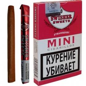 Swisher Sweets Strawberry Mini Cigarillos