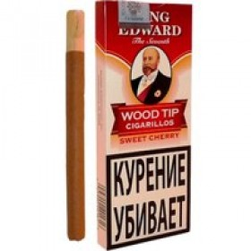 King Edward Wood Tip Cigarillos Cherry