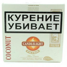 Candlelight Filter Coconut 50