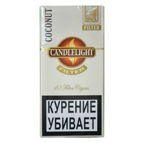 Candlelight Filter Coconut 10
