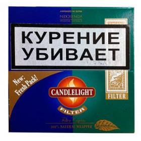Candlelight Filter Assorty Sumatra+Menthol 50