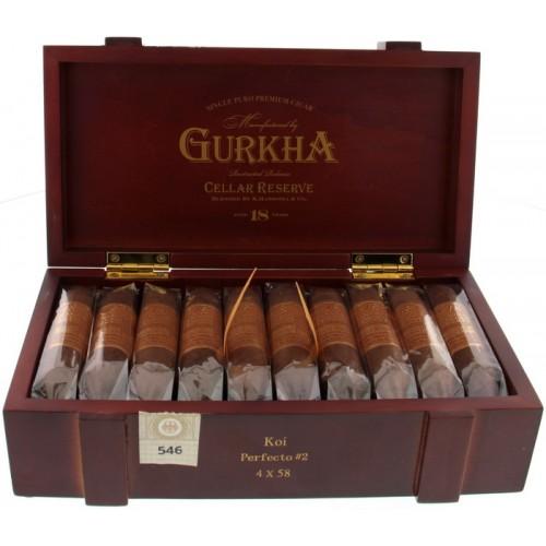 Сигары Gurkha Cellar Reserve Aged 18 year Koi Perfecto
