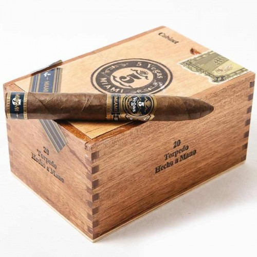 Сигары 5 Vegas Miami Torpedo
