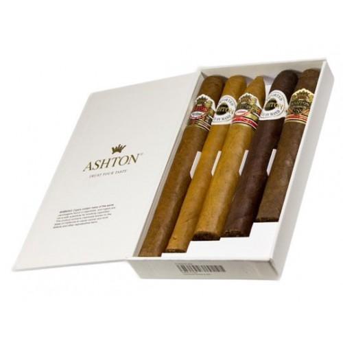 Сигары Ashton Classic 5 Sampler в подарочной упаковке