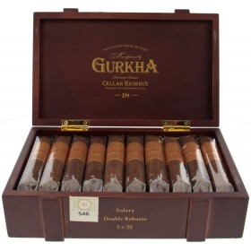 Сигары Gurkha Cellar Reserve Aged 18 Years Double Robusto