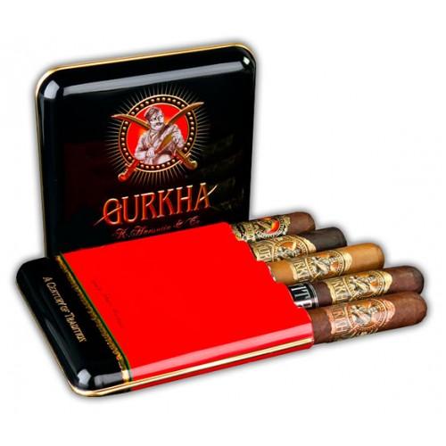 Сигара Gurkha Pack Sampler Metall Gift