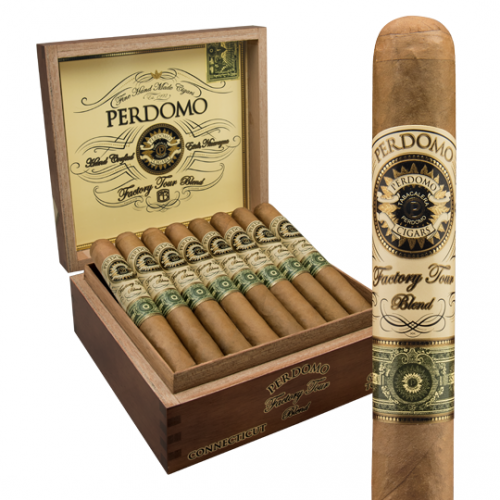 Сигары Perdomo Factory Tour Blend Connecticut Robusto