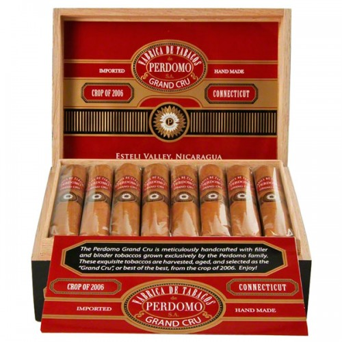 Сигары Perdomo Grand Cru 2006 Connecticut Robusto
