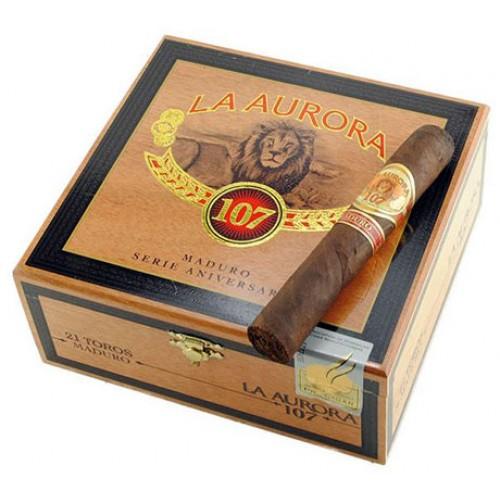 Сигары La Aurora 107 Maduro Toro