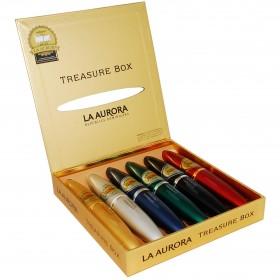 Сигары La Aurora 1903 Preferido Treasure Box 6 Tubes в подарочной упаковке