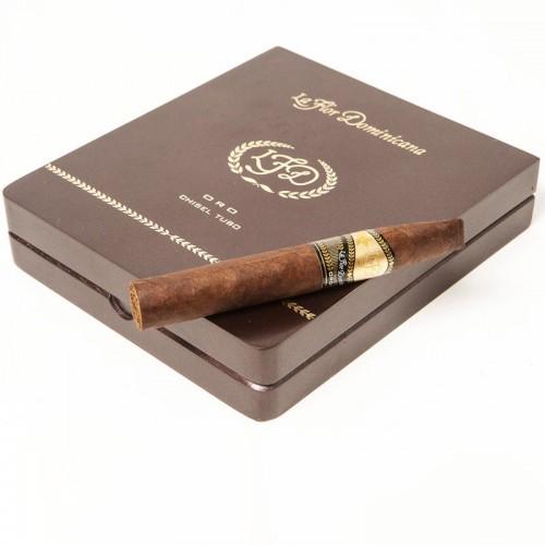 Сигары La Flor Dominicana Oro Chisel Tubos в подарочной упаковке